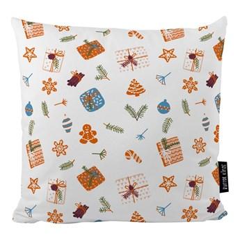 Poduszka ze świątecznym motywem Butter Kings Wrapped Surprise, 45x45
