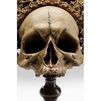 Figurka dekoracyjna King Skull 34x42 cm