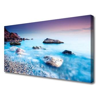 Obraz na Płótnie Morze Kamyczki Zen