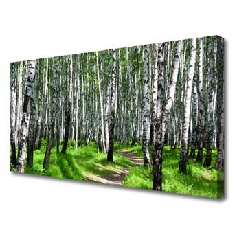Obraz na Płótnie Drzewa Trawa Natura