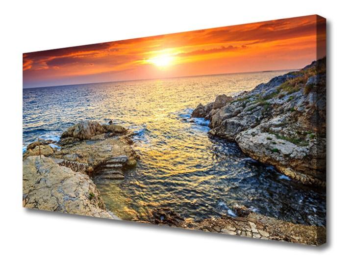 Obraz na Płótnie Morze Słońce Krajobraz Wzór Dla dzieci