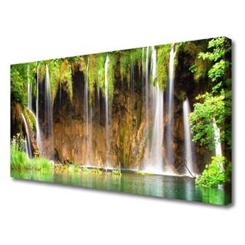 Obraz na Płótnie Wodospad Natura