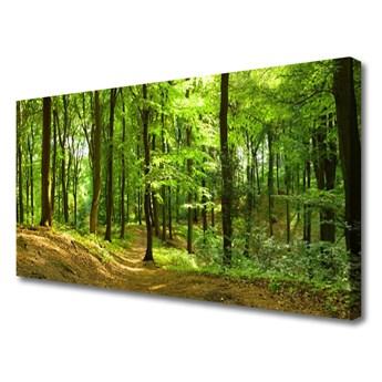 Obraz na Płótnie Las Ścieżka Natura