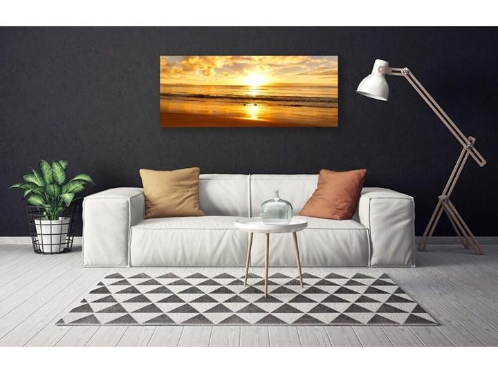 Obraz na Płótnie Morze Słońce Krajobraz Wymiary 50x100 cm