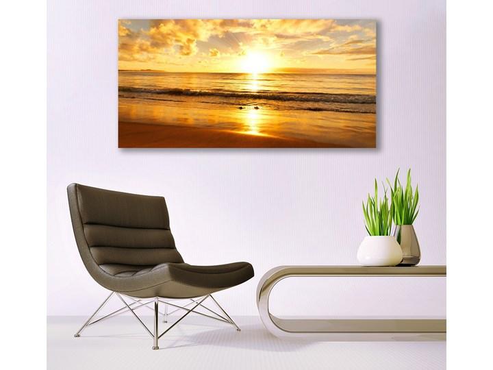 Obraz na Płótnie Morze Słońce Krajobraz Wymiary 50x125 cm