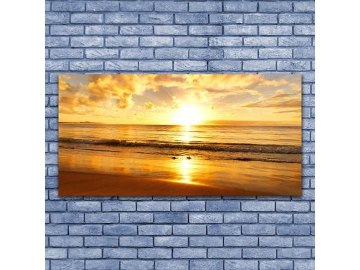 Obraz na Płótnie Morze Słońce Krajobraz Wzór Natura Wymiary 50x100 cm