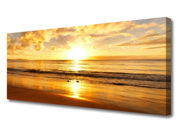 Obraz na Płótnie Morze Słońce Krajobraz Pomieszczenie Biuro i pracownia Wzór Natura