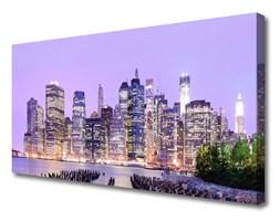Obraz Canvas Miasto Domy