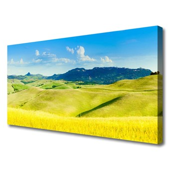 Obraz Canvas Wieś Góry Krajobraz