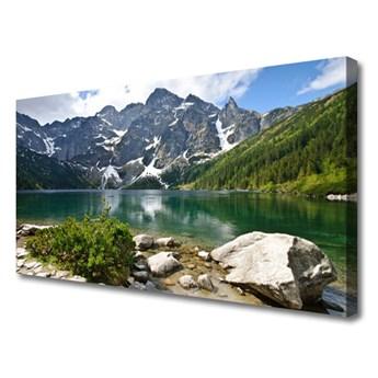 Obraz Canvas Jezioro Góry Krajobraz