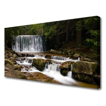 Obraz Canvas Wodospad Las Przyroda