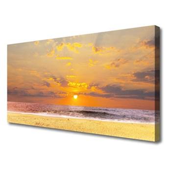 Obraz Canvas Morze Plaża Słońce Krajobraz