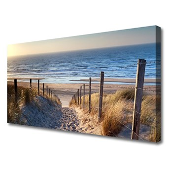 Obraz Canvas Plaża Ścieżka Krajobraz