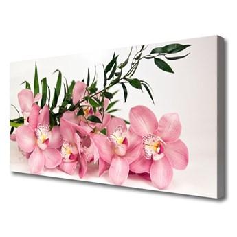 Obraz Canvas Storczyk Kwiaty Spa