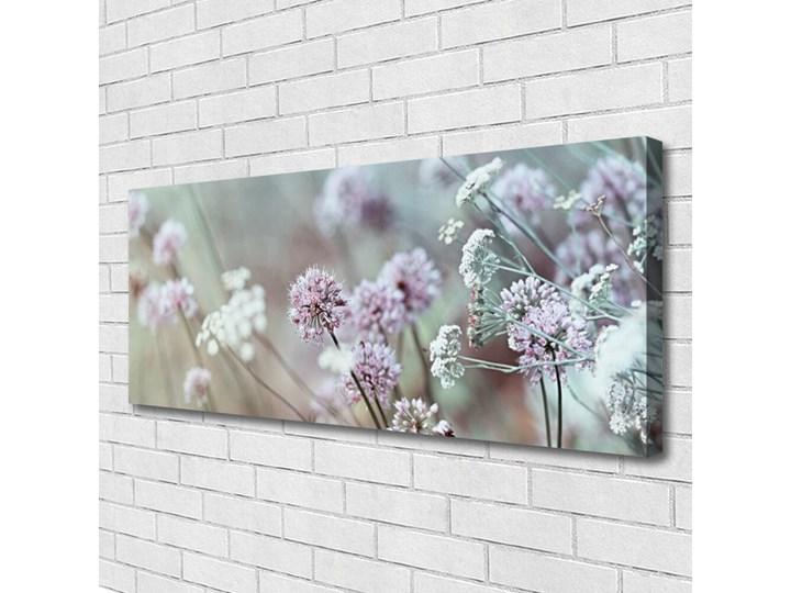 Obraz Canvas Kwiaty Polne Łąka Natura Wymiary 50x100 cm