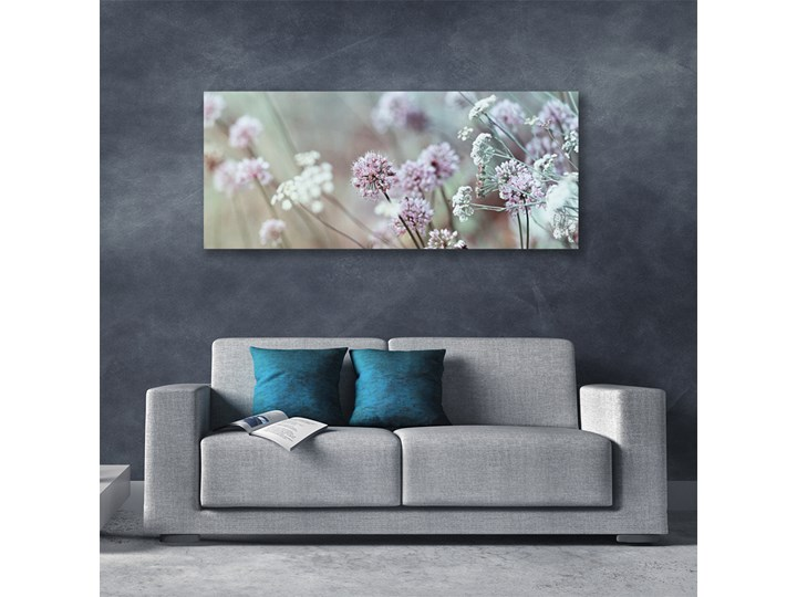 Obraz Canvas Kwiaty Polne Łąka Natura Wykonanie Wydruk cyfrowy