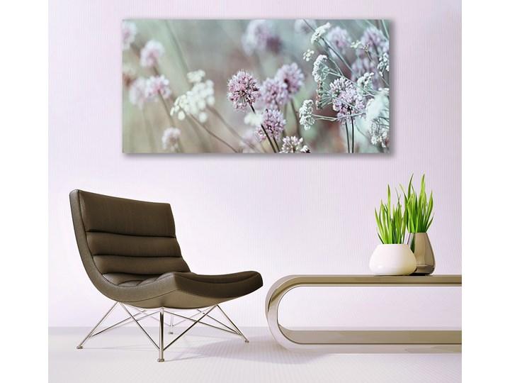 Obraz Canvas Kwiaty Polne Łąka Natura Kolor Beżowy