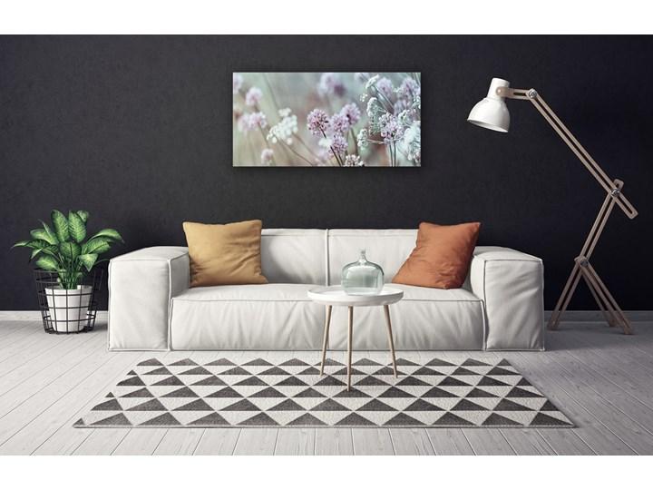 Obraz Canvas Kwiaty Polne Łąka Natura Wykonanie Wydruk cyfrowy Wymiary 60x120 cm