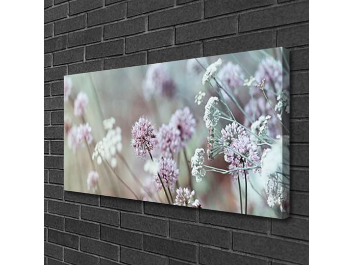 Obraz Canvas Kwiaty Polne Łąka Natura Wymiary 50x125 cm Wykonanie
