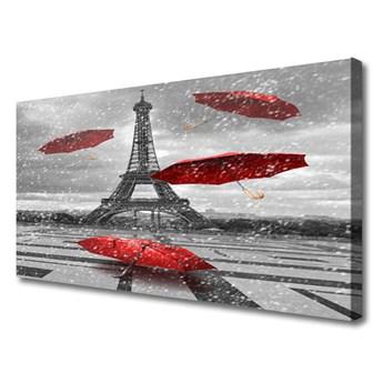 Obraz Canvas Wieża Eiffla Paryż Parasolka