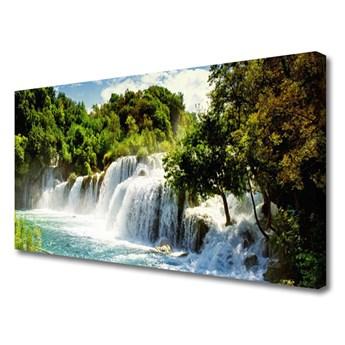 Obraz Canvas Wodospad Natura Las