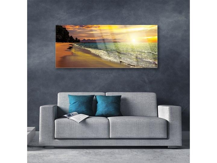 Obraz na Szkle Słońce Plaża Morze Krajobraz Kategoria Obrazy