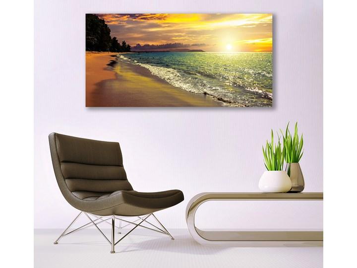 Obraz na Szkle Słońce Plaża Morze Krajobraz Pomieszczenie Sypialnia