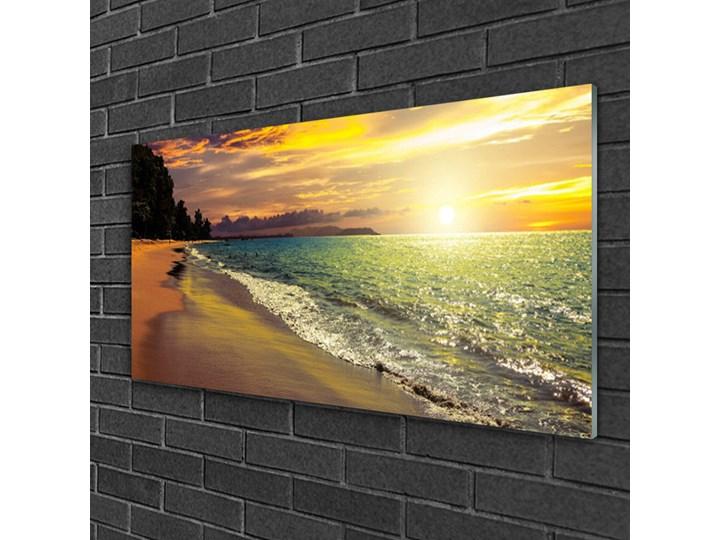 Obraz na Szkle Słońce Plaża Morze Krajobraz Pomieszczenie Biuro i pracownia