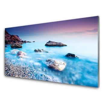 Obraz na Szkle Morze Kamyczki Zen