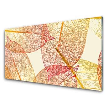 Obraz na Szkle Liście Sztuka Roślina