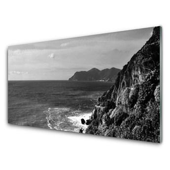 Obraz na Szkle Morze Góry Krajobraz