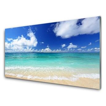 Obraz Szklany Morze Plaża Krajobraz