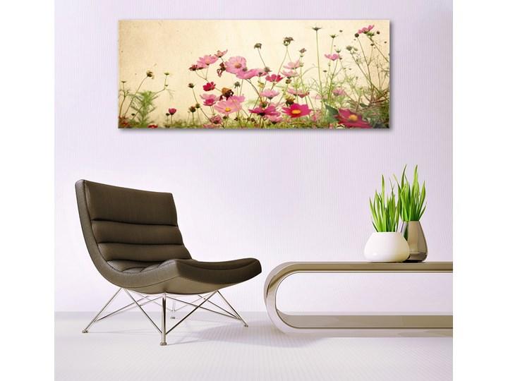 Obraz Szklany Kwiaty Roślina Natura Kolor Różowy Pomieszczenie Sypialnia
