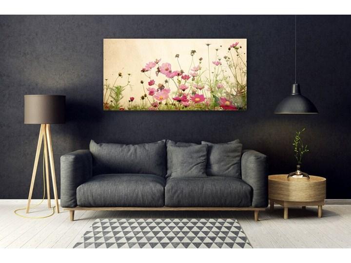 Obraz Szklany Kwiaty Roślina Natura Wymiary 50x100 cm Wymiary 50x125 cm