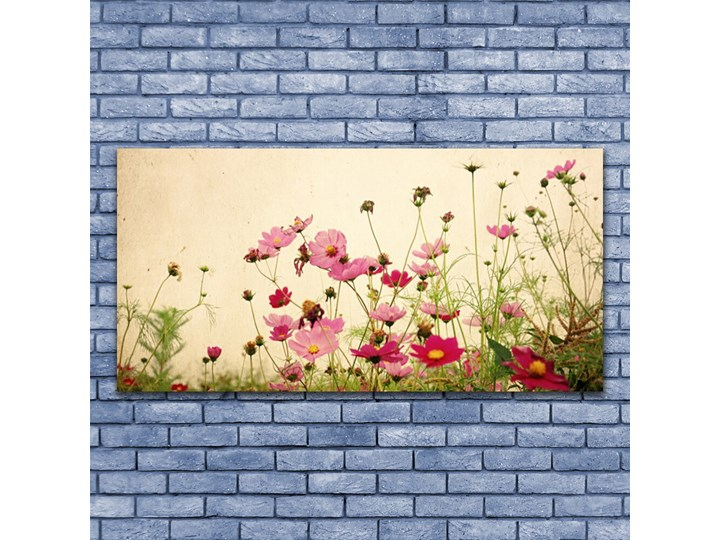Obraz Szklany Kwiaty Roślina Natura Wymiary 70x140 cm
