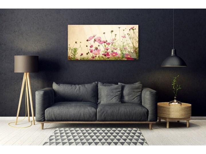 Obraz Szklany Kwiaty Roślina Natura Pomieszczenie Sypialnia Kolor Różowy