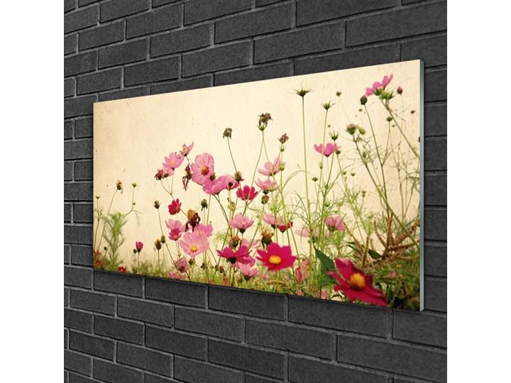 Obraz Szklany Kwiaty Roślina Natura Kolor Beżowy