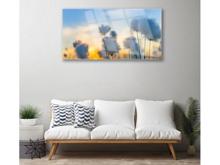 Obraz Szklany Kwiaty Roślina Natura Wymiary 60x120 cm Wykonanie Na szkle