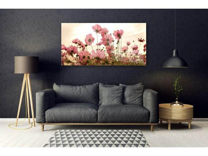 Obraz Szklany Kwiaty Polne Łąka Natura Pomieszczenie Salon Wykonanie Na szkle