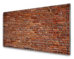 Obraz Szklany Mur Ceglany Cegły Na Ścianę