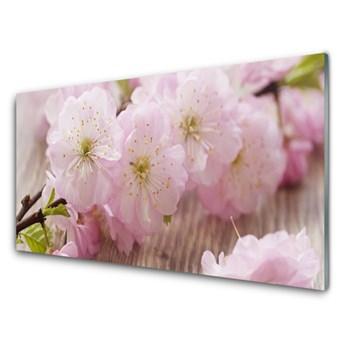 Obraz Szklany Gałęzie Kwiaty Płatki Natura