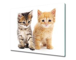 Deska kuchenna Brązowy i rudy kot