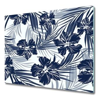 Deska kuchenna Tropikalne kwiaty