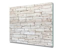 Deska kuchenna Biała ściana kamień
