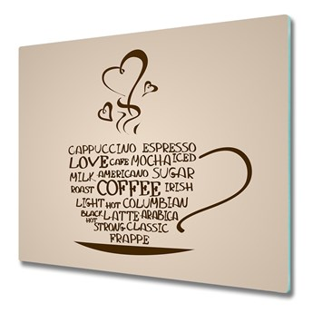 Deska kuchenna Filiżanka kawy