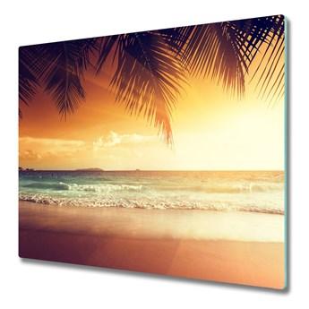 Deska kuchenna Tropikalna plaża