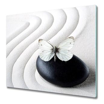 Deska kuchenna Kamień zen i motyl