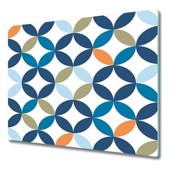 Deska do krojenia Geometryczne tło
