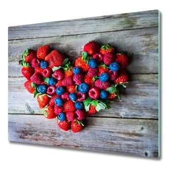 Deska do krojenia Serce z owoców