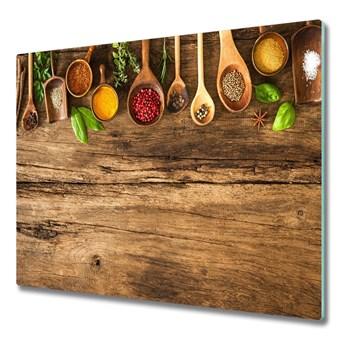 Deska do krojenia Przyprawy drewno